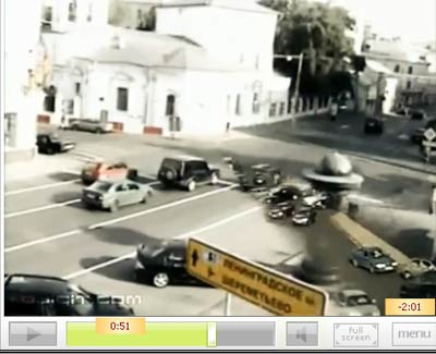 คลิปรวมอุบัติเหตุ